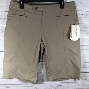 Royal Robbins Discover Bermuda shorts Sz 14 UPF 50